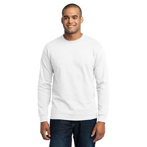 Port & Company® 5.5 Oz. Long Sleeve 50/50 Cotton/ Poly T-Shirt