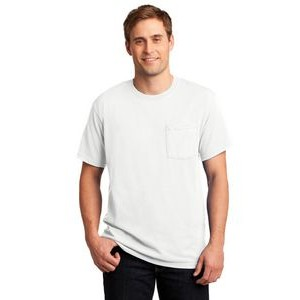 Jerzees� Dri-Power� Active 50/50 Cotton/Poly Pocket T-Shirt