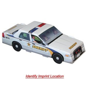 Foldable Die-Cut Sheriff Car (Full Color Digital)