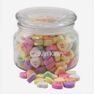 Jar w/Conversation Hearts