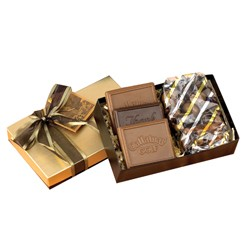 Chocolate Covered Cookies Gift Box w/ 1 Confection