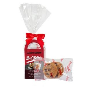 Happy Holidays Mrs. Fields Mini Cookie Gift Tote