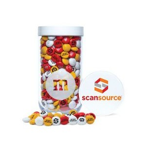 Gift Jar with Printed Customized Lid with Personalized M&M'S®