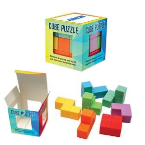 Multi Color Cube Puzzle