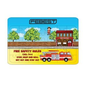Fire Department Design Jigsaw Puzzle