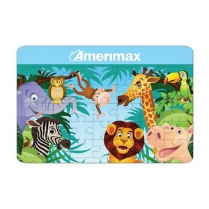 Jungle Design Jigsaw Puzzle