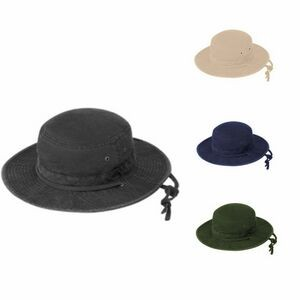 Fishman Bucket Hat Normal Dyed and Cap Washed