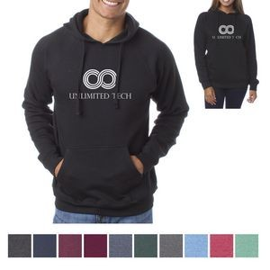 Independent Trading Company Unisex Special Blend Raglan Hooded Pullover
