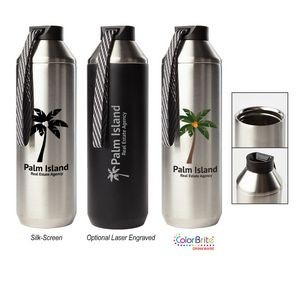 Hydrogen 20 - 20 Oz. Stainless Steel Water Bottle
