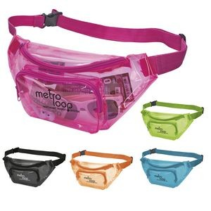 Translucent Color Fanny Pack