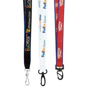 "3/4"" High Detail Woven Lanyard (Direct Import - 8-10 Weeks Ocean)"
