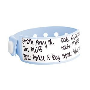 Vinyl Infant Write-On Wristband