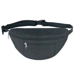 Poly Two Pocket Sports Fanny Pack