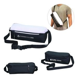 Dual Function Cross Body Bag and Fanny Pack